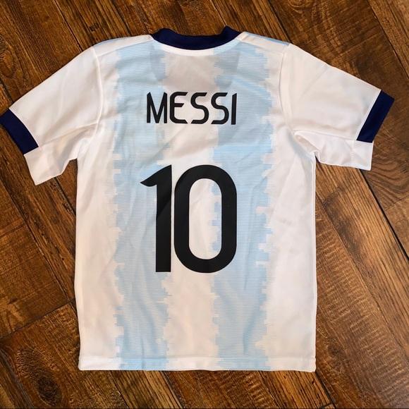 adidas Shirts & Tops | Kids Size 4 Adidas Messi Soccer Jersey ...